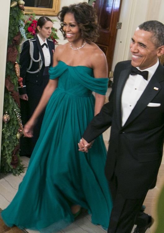 Michelle Obama at the 36th Annual Kennedy Center Honors Gala