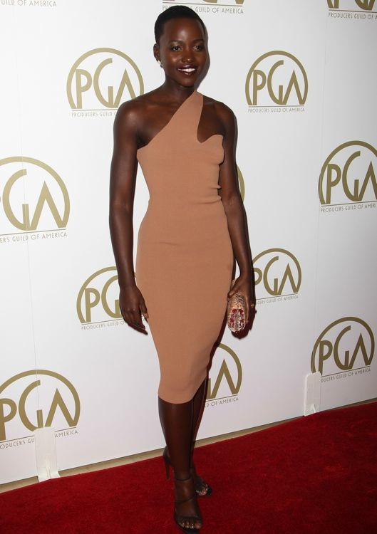 Lupita Nyong'o at the 2014 Producers Guild Awards