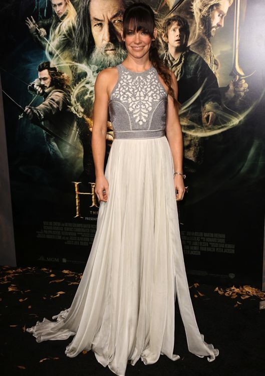Evangeline Lilly at the Los Angeles Premiere of The Hobbit: The Desolation of Smaug