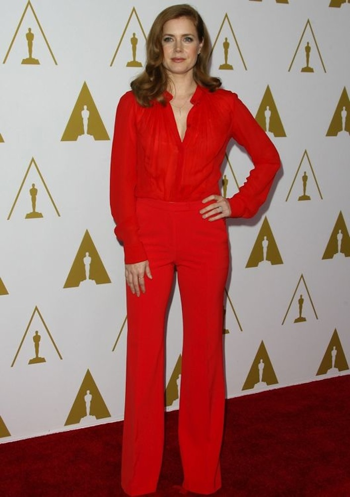 Amy Adams at the 86th Academy Awards Nominees Luncheon