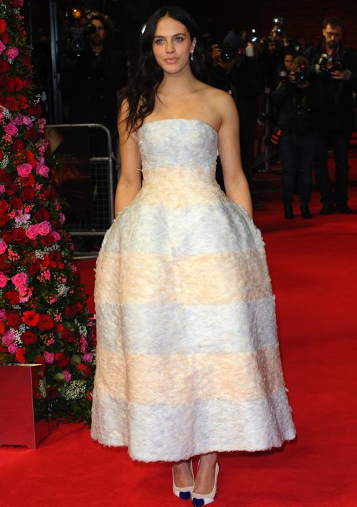 Jessica Brown Findlay at the London Premiere of Winter's Tale