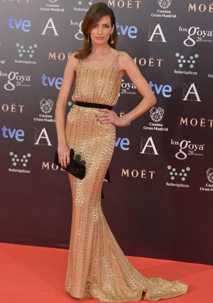 Nieves Alvarez at the Goya Cinema Awards 2014