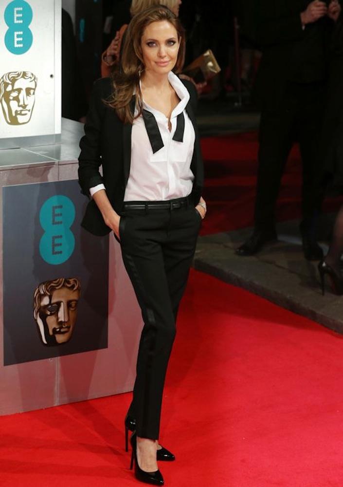Angelina Jolie at the 2014 BAFTA Awards