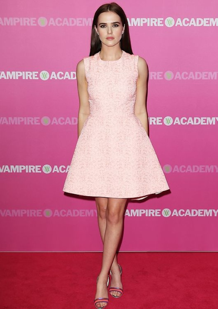 Zoey Deutch at the Australian Premiere of Vampire Academy
