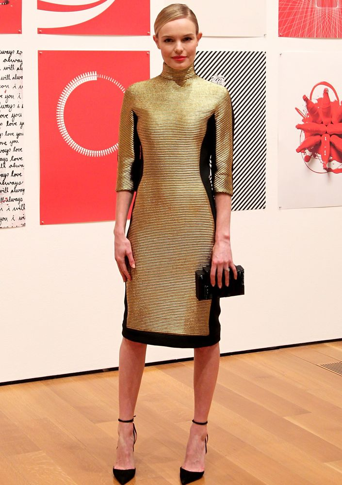 Kate Bosworth at The Coca-Cola Bottle: An American Icon at 100 Exhibition