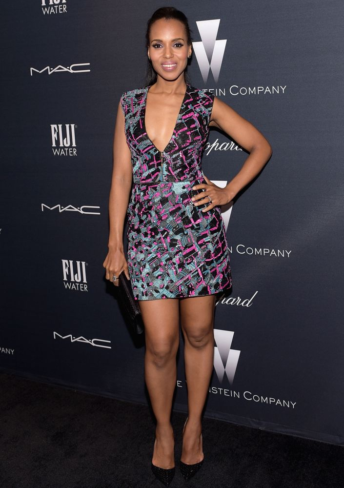 Kerry Washington at The Weinstein Company's Academy Awards Nominees Dinner