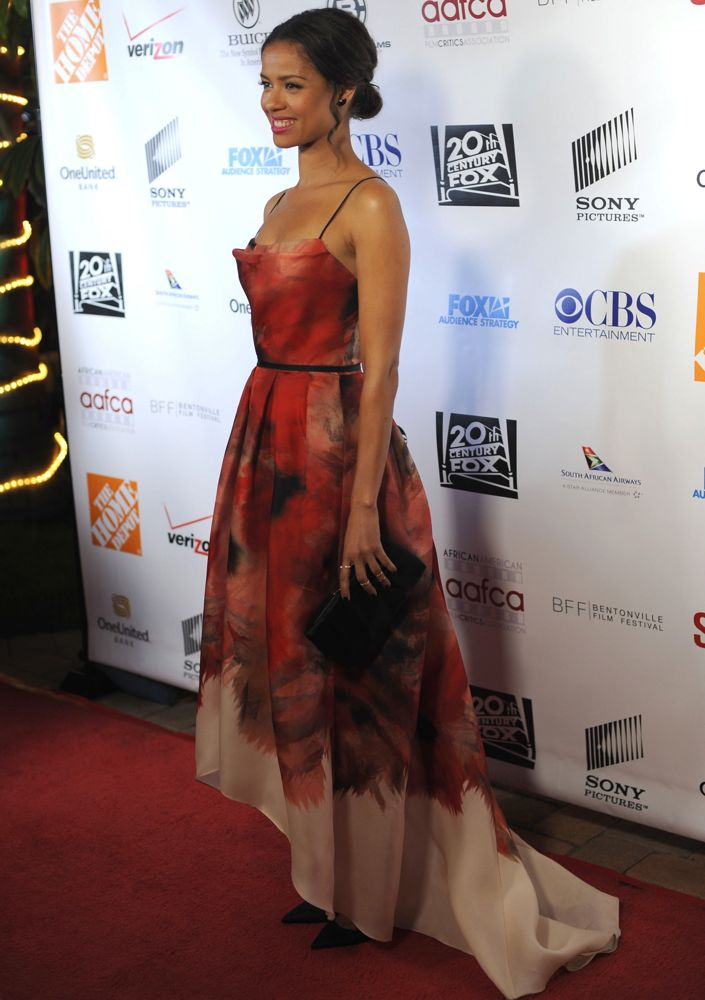 Gugu Mbatha-Raw at the 6th Annual AAFCA Awards