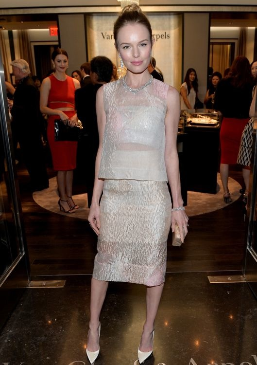 Kate Bosworth at the Van Cleef & Arpels South Coast Plaza Boutique Celebration