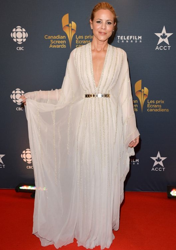 Maria Bello at the Canadian Screen Awards