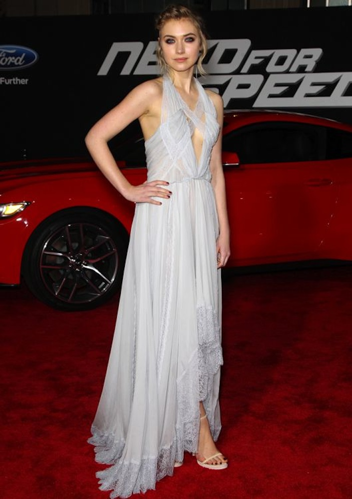 Imogen Poots at the Los Angeles Premiere of Need for Speed