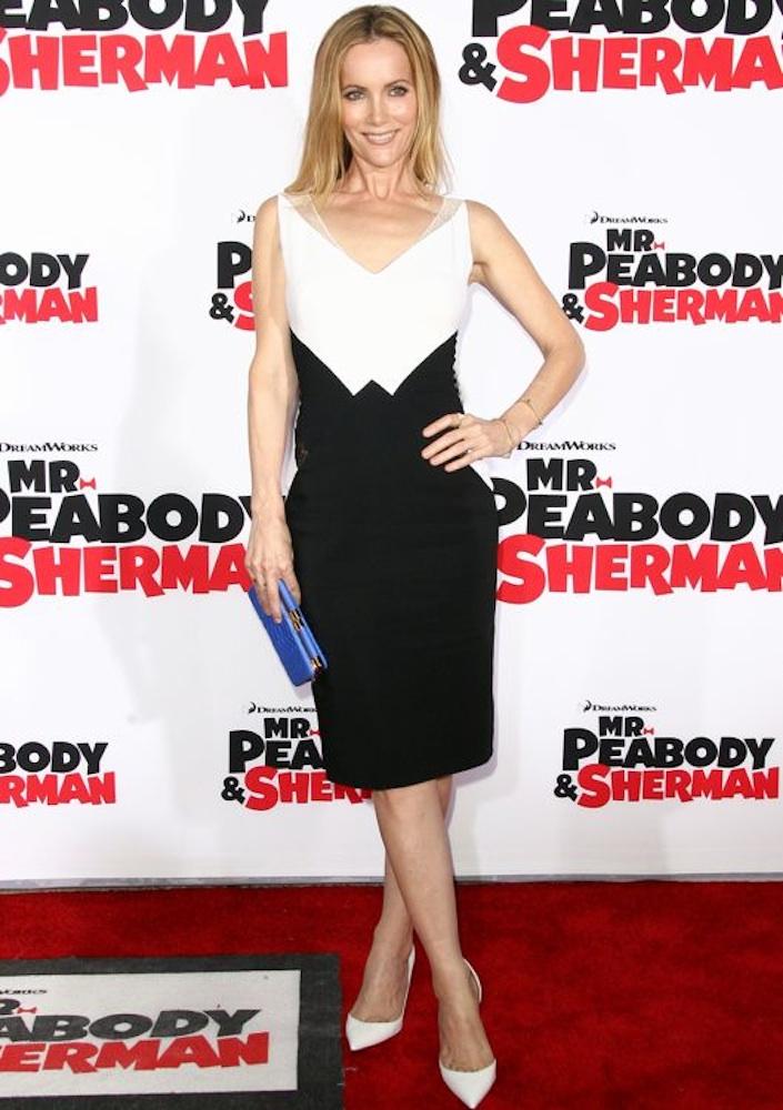 Leslie Mann at the Los Angeles Premiere of Mr. Peabody & Sherman