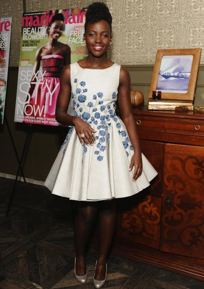 Lupita Nyong'o at the Marie Claire Celebrates May Cover Stars Party