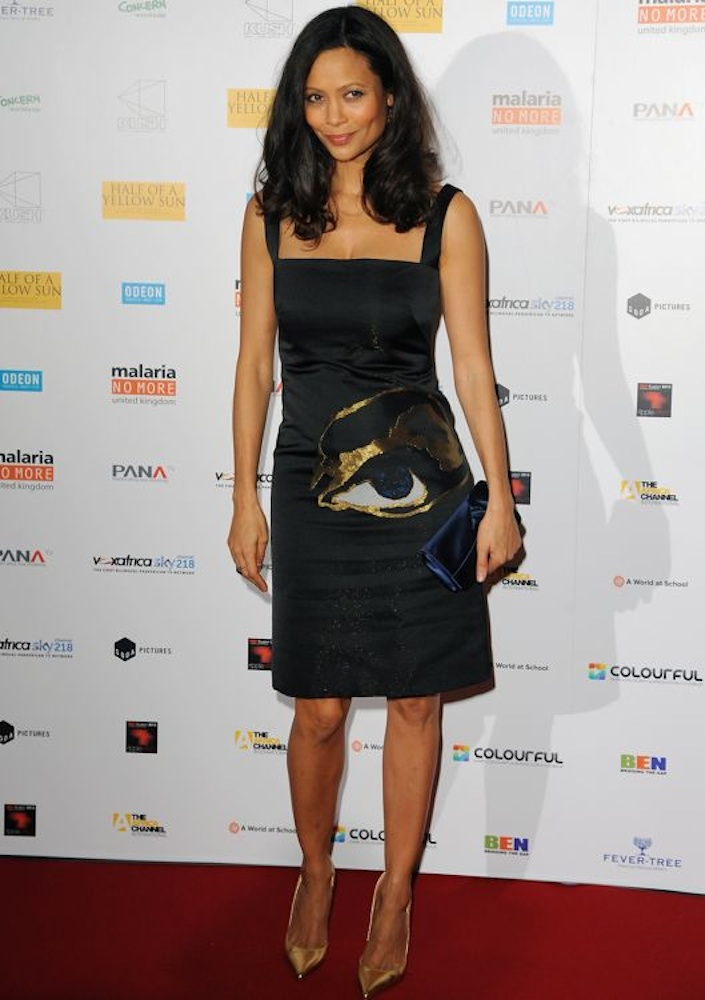 Thandie Newton at the London Premiere of Half of a Yellow Sun