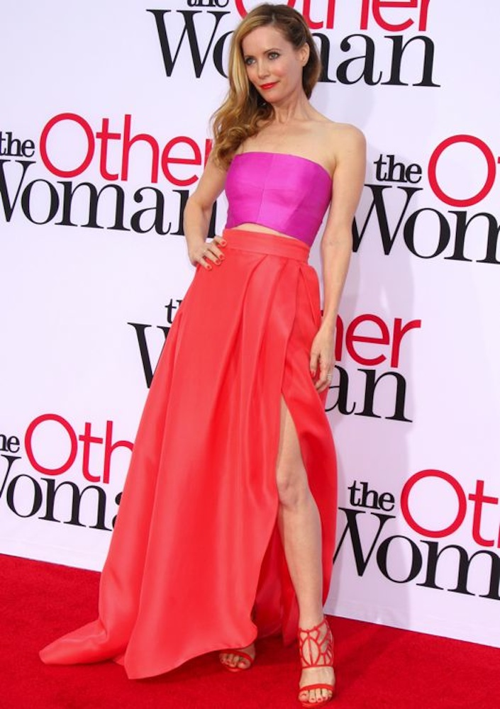 Leslie Mann at the Los Angeles Premiere of The Other Woman
