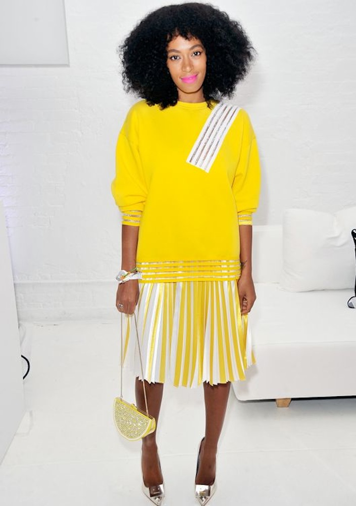 Solange Knowles at the Q&Q Launch Event