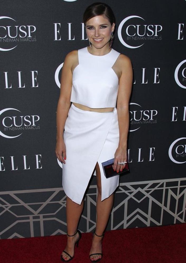 Sophia Bush at the 2014 ELLE Women in Music Celebration