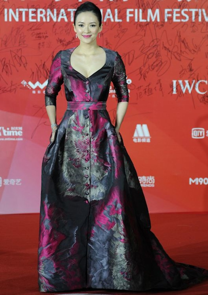 Zhang Ziyi at the 4th Beijing International Film Festival Closing Ceremony