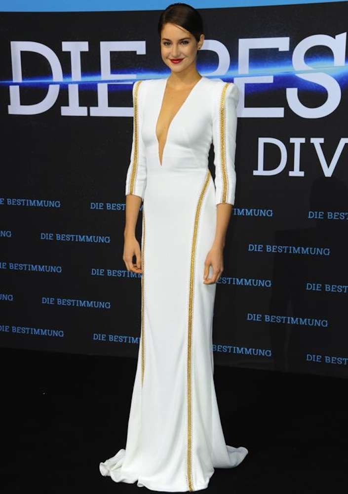Shailene Woodley at the Berlin Premiere of Divergent