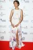 Zoe Saldana at the 2014 Global Gift Gala Charity Dinner