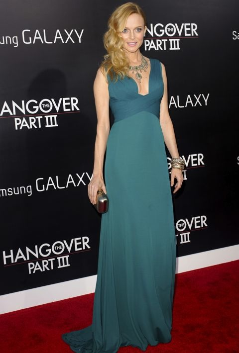 Heather Graham at the Los Angeles Premiere of The Hangover Part III