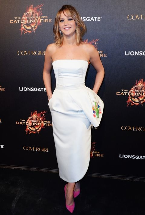 Jennifer Lawrence at the 66th Annual Cannes International Film Festival Party for The Hunger Games: Catching Fire