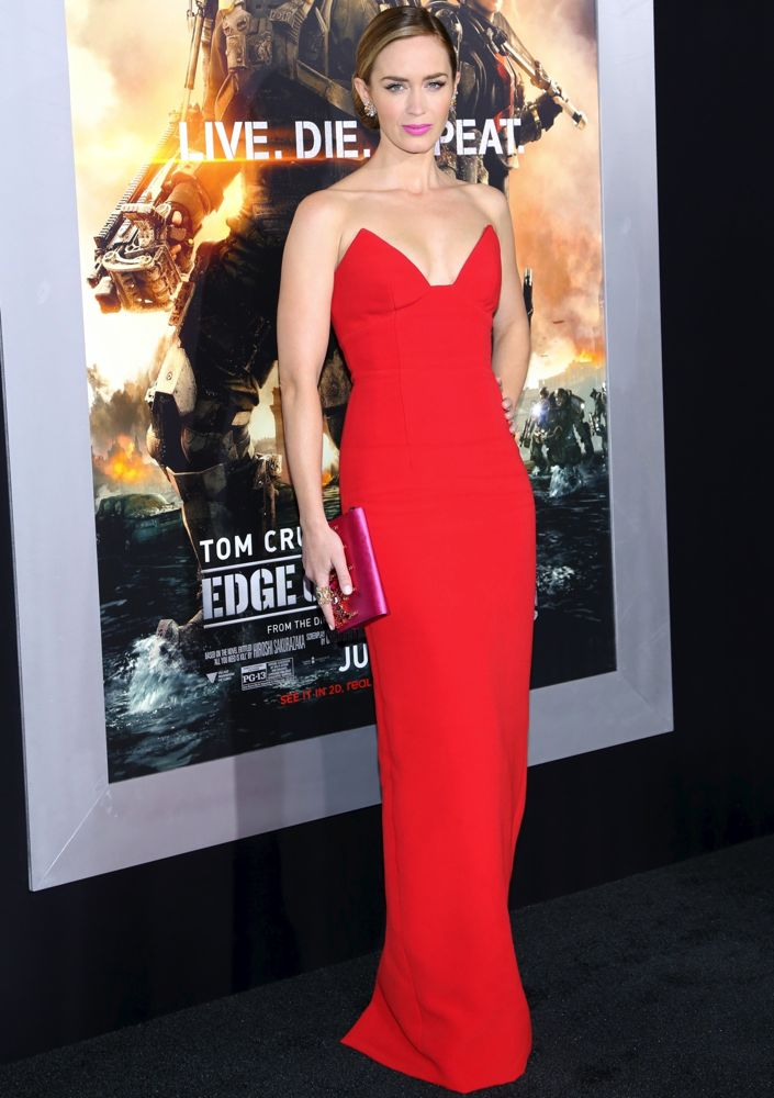 Emily Blunt at the New York Premiere of Edge of Tomorrow