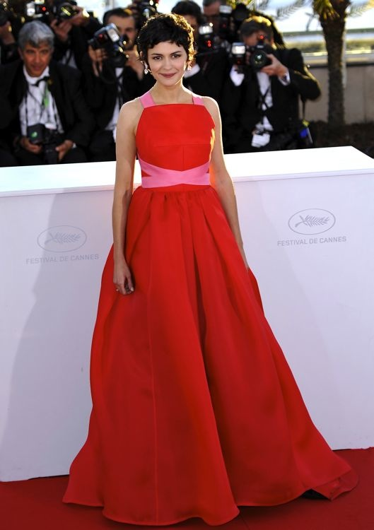 Audrey Tautou at the 66th Annual Cannes International Film Festival Photocall for the Palme D'Or Winners
