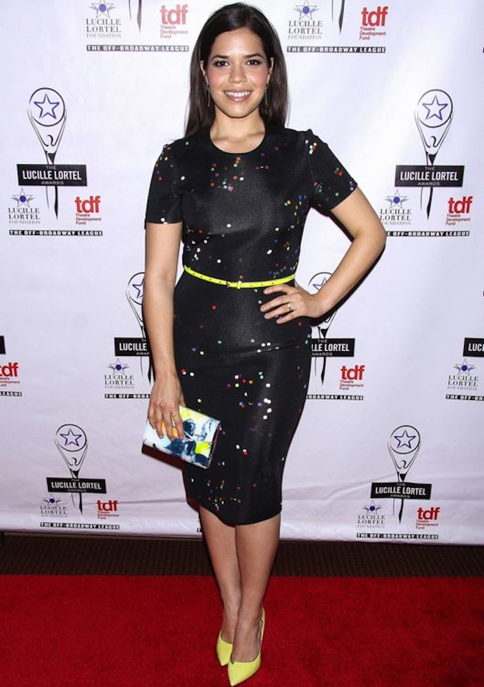 America Ferrera at the 29th Annual Lucille Lortel Awards