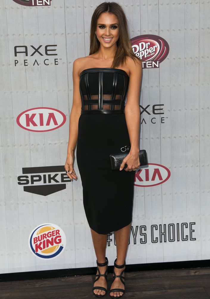 Jessica Alba at Spike TV's Guys Choice Awards 2014