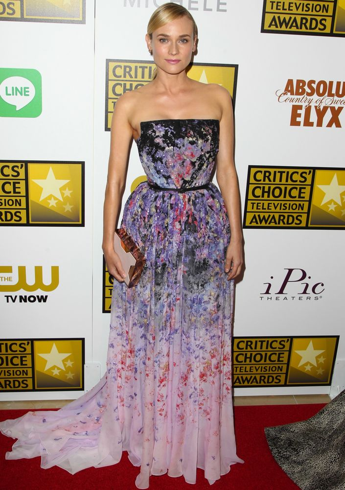 Diane Kruger at the 2014 Critics' Choice Television Awards