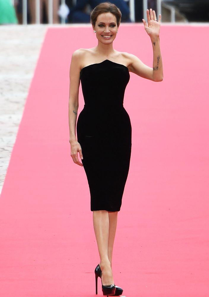 Angelina Jolie at the Japan Premiere of Maleficent