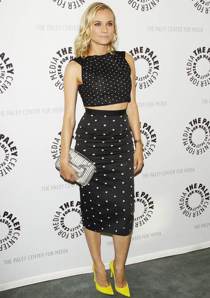Diane Kruger at The Paley Center for Media's Season Two Premiere Screening of The Bridge
