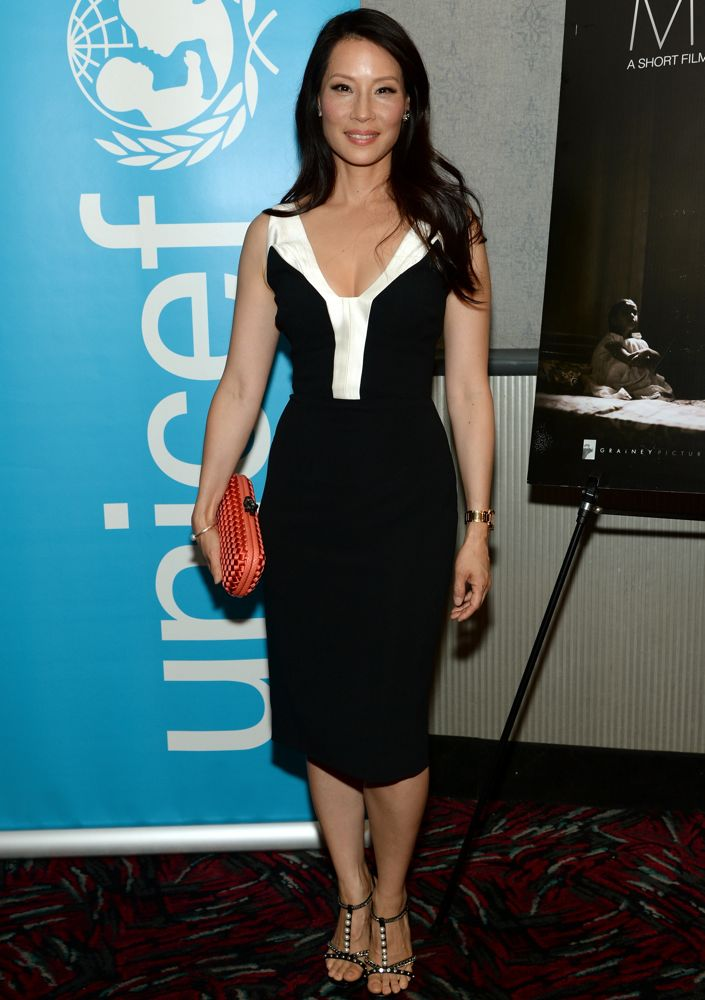 Lucy Liu at the New York Premiere of Meena