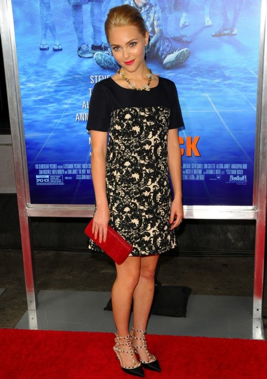 AnnaSophia Robb at the New York Premiere of The Way, Way Back