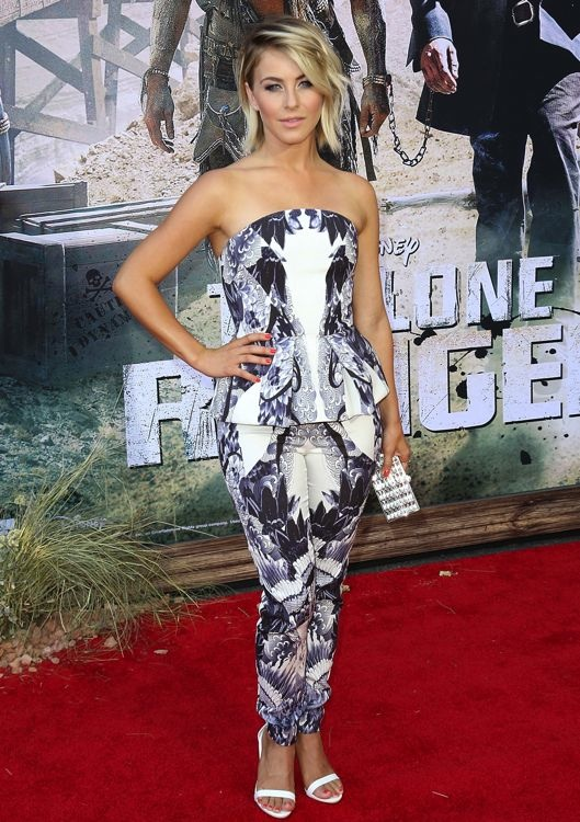 Julianne Hough at the Los Angeles Premiere of The Lone Ranger