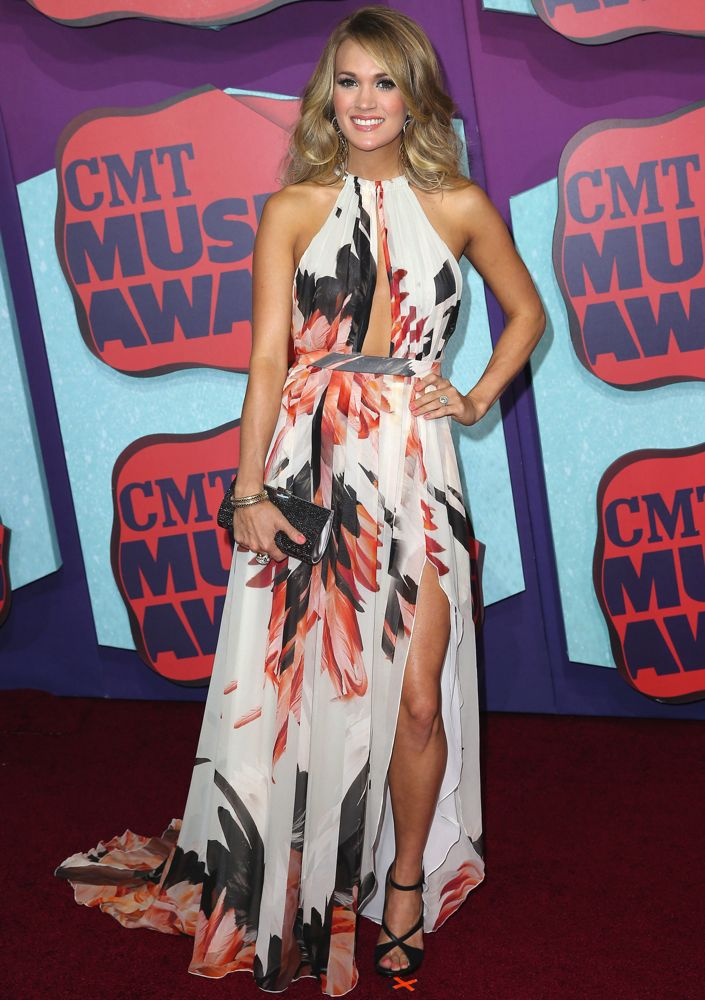 Carrie Underwood at the 2014 CMT Music Awards
