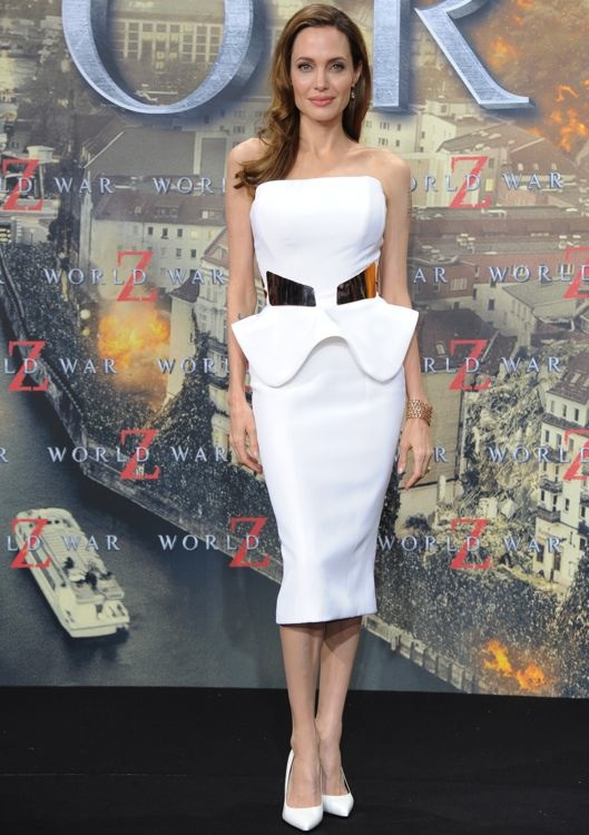 Angelina Jolie at the Berlin Premiere of World War Z
