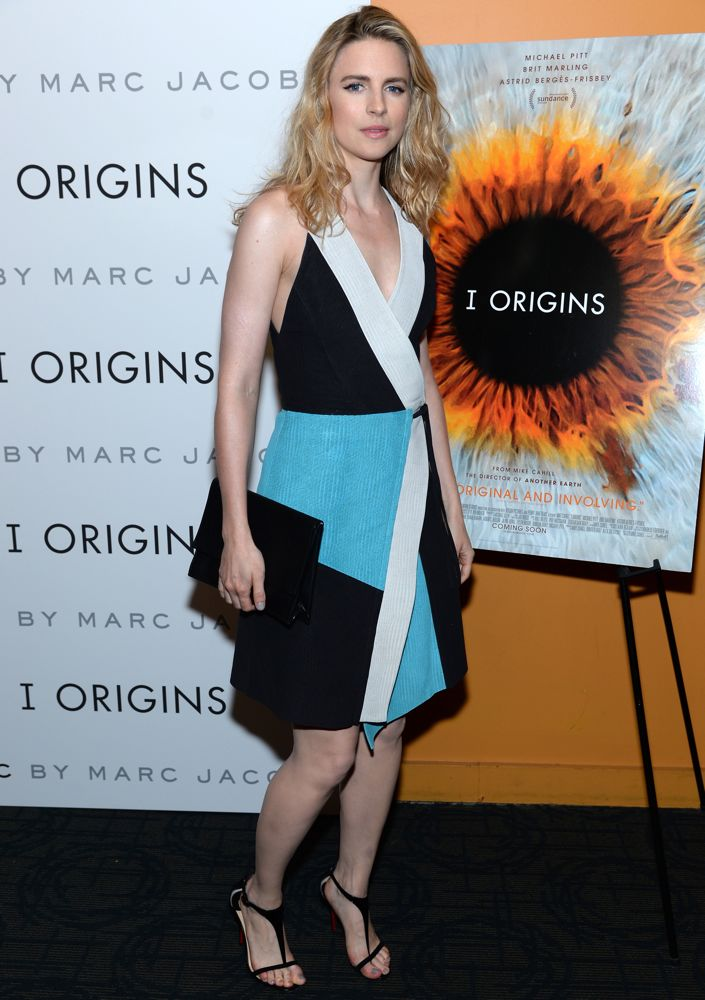 Brit Marling at the New York Screening of I Origins