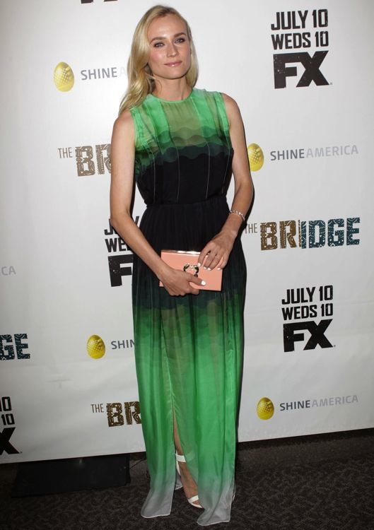 Diane Kruger at the Los Angeles Premiere of The Bridge