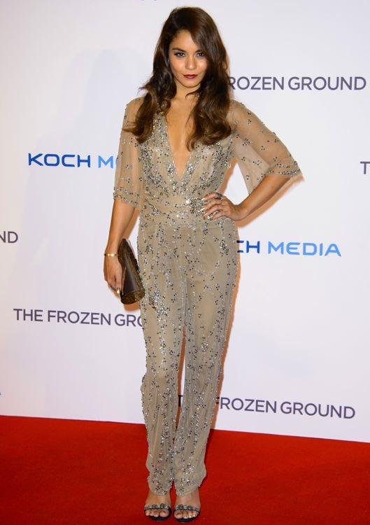 Vanessa Hudgens at the London Premiere of The Frozen Ground
