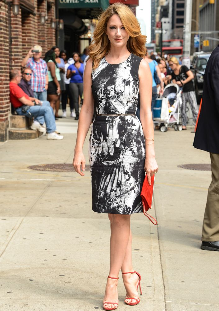 Judy Greer Appearing On the Late Show with David Letterman
