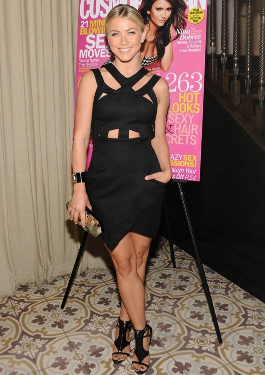 Julianne Hough at Cosmopolitan's Summer Bash