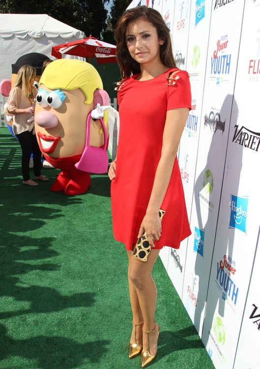 Nina Dobrev at the 2013 Variety Power of Youth Event
