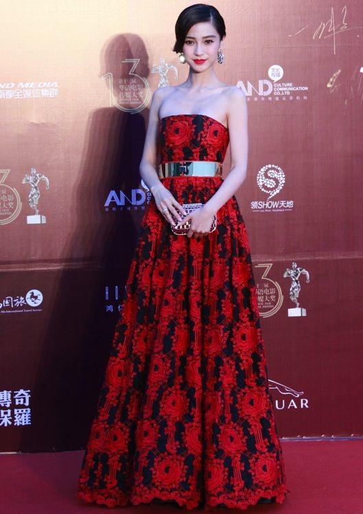 Angelababy at the 13th Chinese Film Media Awards