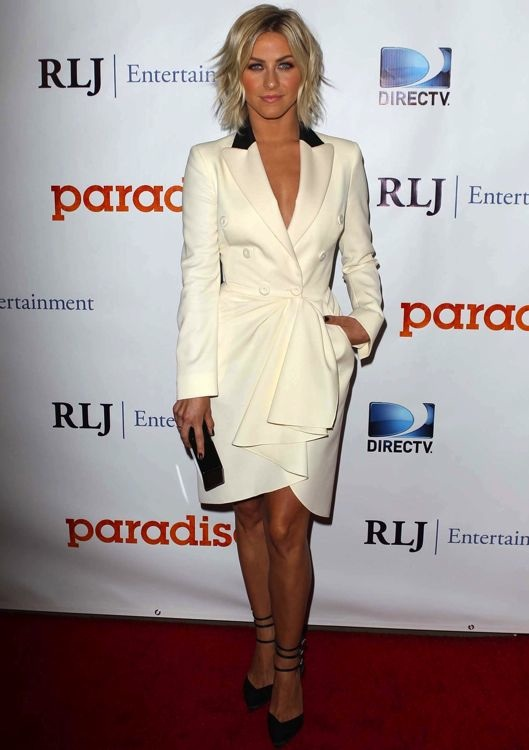 Julianne Hough at the Los Angeles Premiere of DirecTV's Paradise