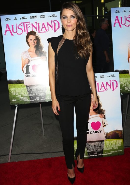Keri Russell at the Los Angles Premiere of Austenland