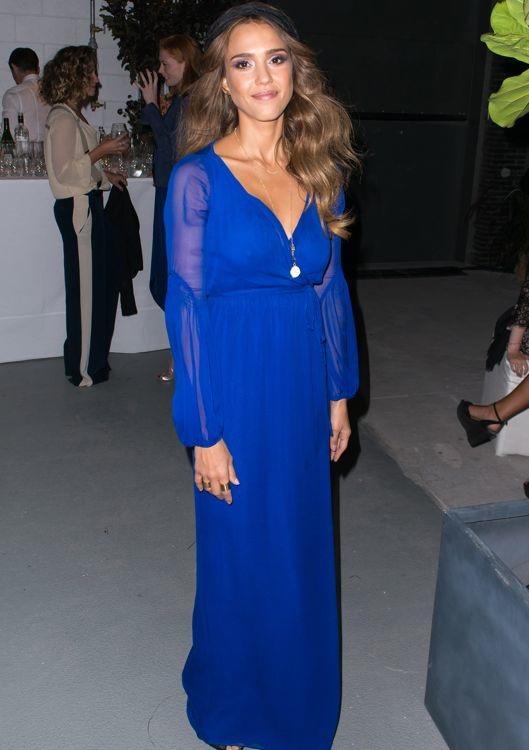 Jessica Alba at the Diane von Furstenberg After Party