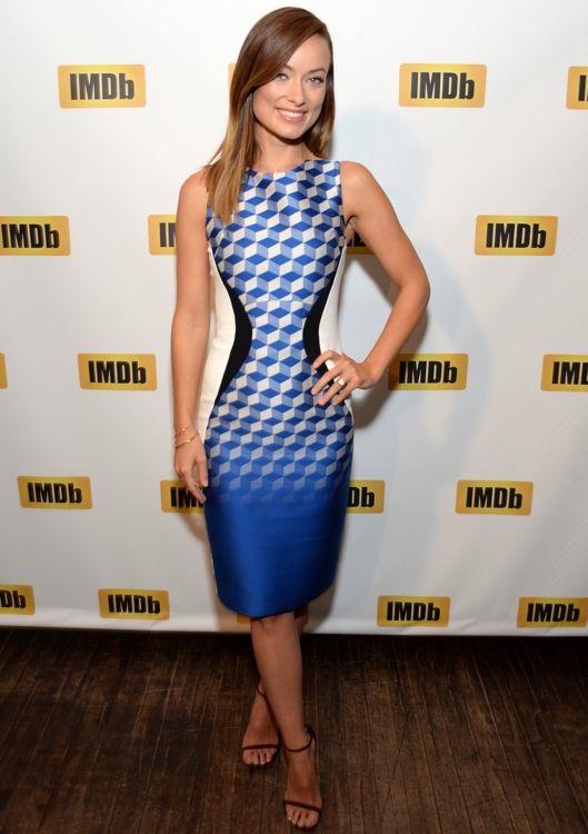 Olivia Wilde Receiving the IMDb STARmeter Award