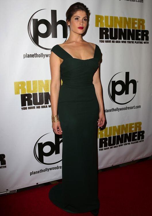 Gemma Arterton at the Las Vegas Premiere of Runner Runner