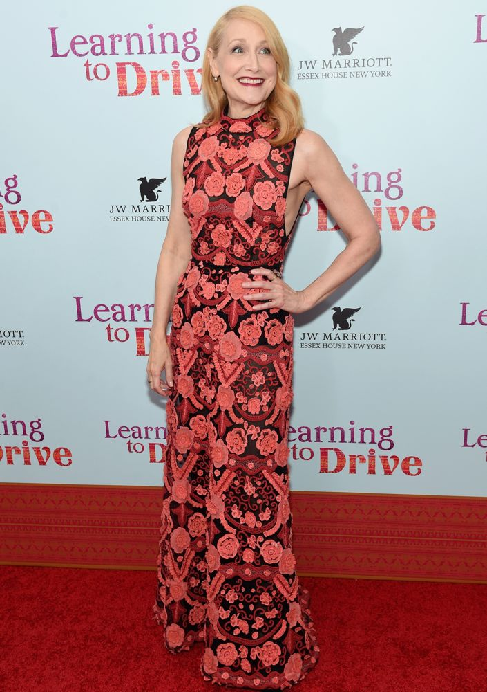 Patricia Clarkson at the New York Premiere of Learning to Drive